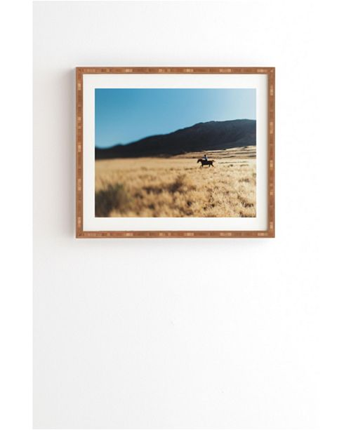 Deny Designs How The West Was Won Framed Wall Art