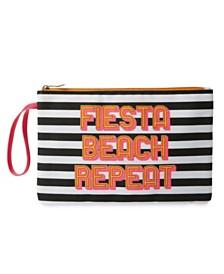 """Tri-Coastal Design """"FIESTA BEACH REPEAT"""" Bikini Bag"""