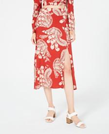 T.D.C. Topson Midi Wrap Skirt