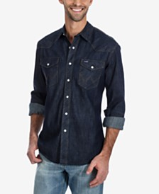 Wrangler Men's Authentic Western Shirt