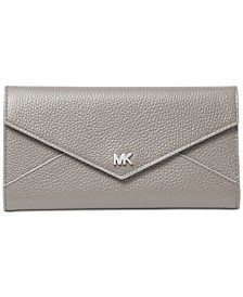 MICHAEL Michael Kors Slim Envelope Trifold Leather Wallet