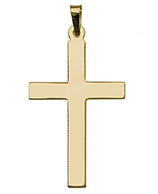 Cross Pendant in 14k Yellow Gold