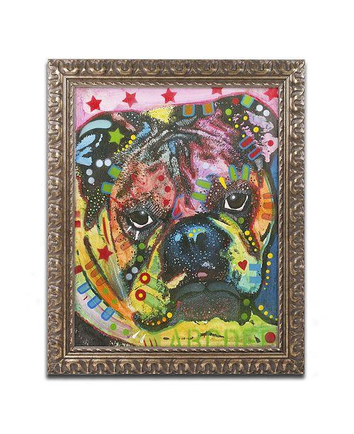 "Trademark Global Dean Russo 'Determined' Ornate Framed Art - 20"" x 16"" x 0.5"""