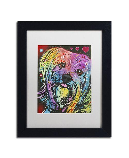 """Trademark Global Dean Russo '10' Matted Framed Art - 11"""" x 14"""" x 0.5"""""""