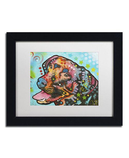 """Trademark Global Dean Russo '20' Matted Framed Art - 11"""" x 14"""" x 0.5"""""""
