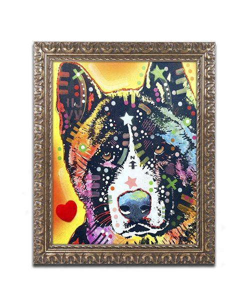 "Trademark Global Dean Russo 'Akita' Ornate Framed Art - 20"" x 16"" x 0.5"""