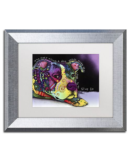 "Trademark Global Dean Russo 'Affection' Matted Framed Art - 14"" x 11"" x 0.5"""