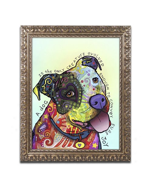 "Trademark Global Dean Russo 'Pure Joy' Ornate Framed Art - 20"" x 16"" x 0.5"""