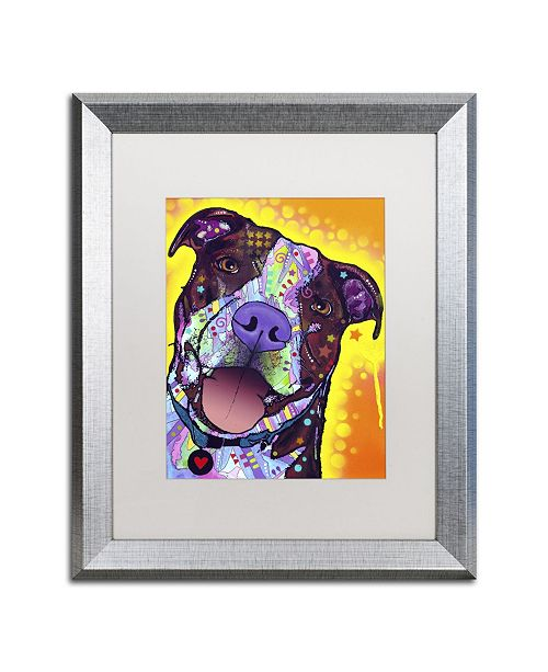 "Trademark Global Dean Russo 'Daisy Pit' Matted Framed Art - 20"" x 16"" x 0.5"""