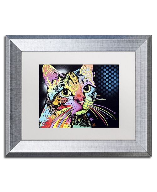 "Trademark Global Dean Russo 'Catillac New' Matted Framed Art - 14"" x 11"" x 0.5"""