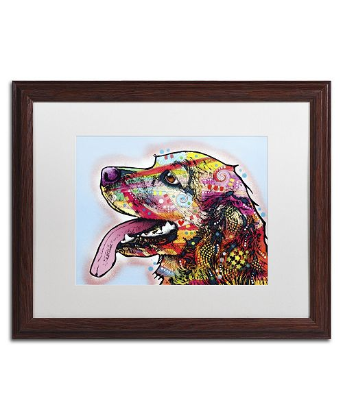 "Trademark Global Dean Russo 'Cocker Spaniel' Matted Framed Art - 20"" x 16"" x 0.5"""