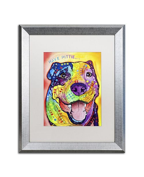 """Trademark Global Dean Russo 'Have Pittie' Matted Framed Art - 20"""" x 16"""" x 0.5"""""""