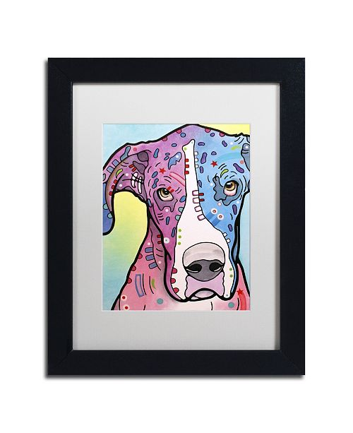 """Trademark Global Dean Russo 'Nobody's Fool' Matted Framed Art - 11"""" x 14"""" x 0.5"""""""