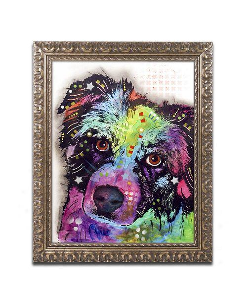 "Trademark Global Dean Russo 'Aussie' Ornate Framed Art - 20"" x 16"" x 0.5"""