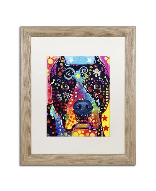 """Trademark Global Dean Russo 'Junior' Matted Framed Art - 20"""" x 16"""" x 0.5"""""""