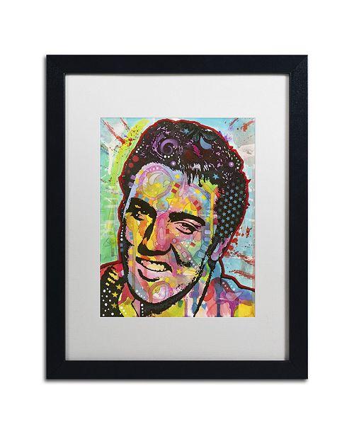 "Trademark Global Dean Russo 'Elvis' Matted Framed Art - 16"" x 20"" x 0.5"""