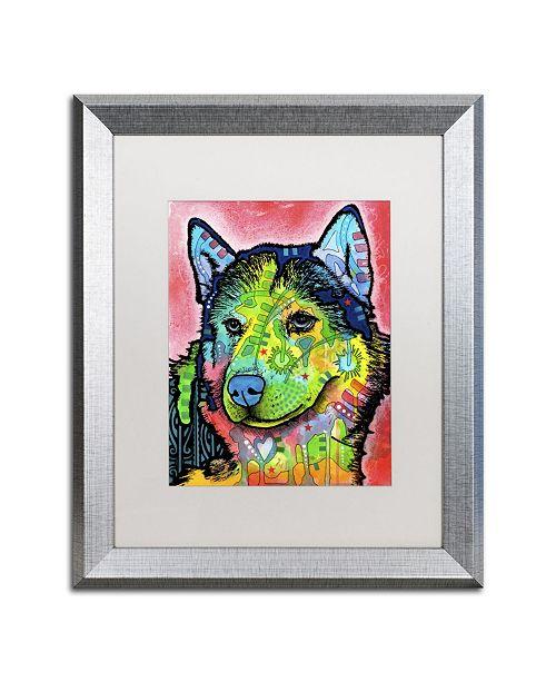 "Trademark Global Dean Russo 'Siberian Front' Matted Framed Art - 20"" x 16"" x 0.5"""