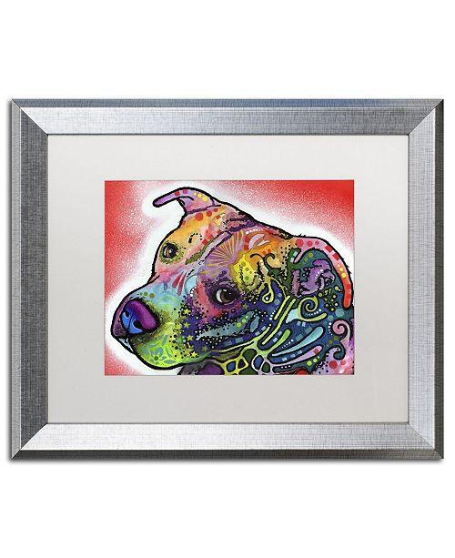 """Trademark Global Dean Russo 'Mocha' Matted Framed Art - 20"""" x 16"""" x 0.5"""""""
