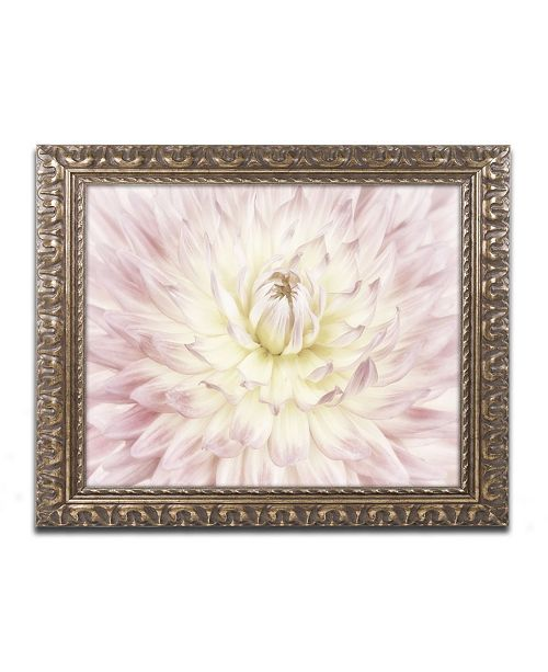 "Trademark Global Cora Niele 'Dahlia Flower' Ornate Framed Art - 14"" x 11"" x 0.5"""