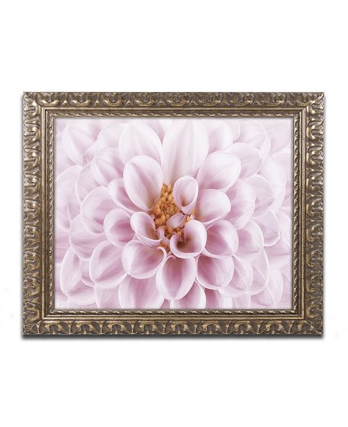 "Trademark Global Cora Niele 'Pink Dahlia' Ornate Framed Art - 20"" x 16"" x 0.5"""