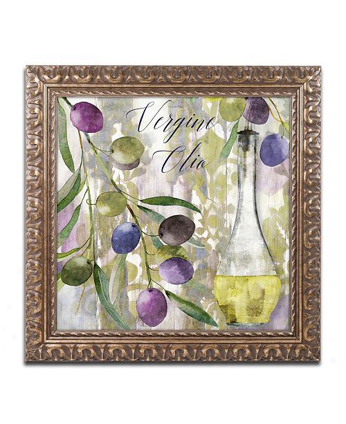 "Trademark Global Color Bakery 'Colors Of Tuscany II' Ornate Framed Art - 11"" x 0.5"" x 11"""