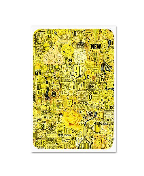 "Trademark Global Colin Johnson 'The Nth Degree' Canvas Art - 47"" x 30"" x 2"""