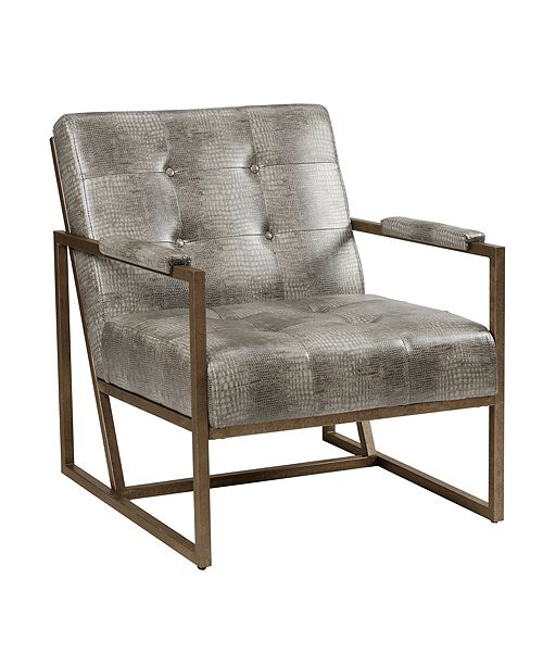 Furniture York Tufted Lounge Armchair