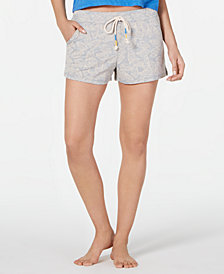 Jenni French Terry Pajama Shorts, Created for Macy's