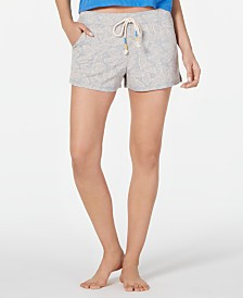 Jenni Drawstring Pajama Shorts, Created for Macy's