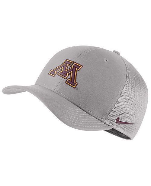 online store d74ac 43f2f Nike Minnesota Golden Gophers Aerobill Mesh Cap ...