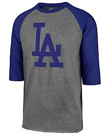 '47 Brand Men's Los Angeles Dodgers Throwback Club Raglan T-Shirt