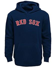 Little Boys Boston Red Sox Wordmark Pullover Fleece Hoodie