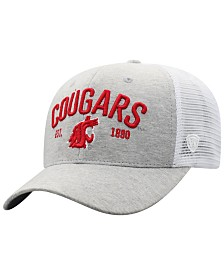 Top of the World Washington State Cougars Notch Heather Trucker Cap