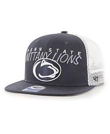 '47 Brand Big Boys Penn State Nittany Lions Wordmark Captain Snapback Cap