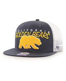 '47 Brand Big Boys California Golden Bears Wordmark Captain Snapback Cap