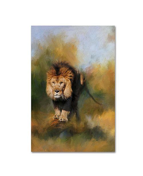 "Trademark Global Jai Johnson 'Spring Lion 1' Canvas Art - 32"" x 22"" x 2"""