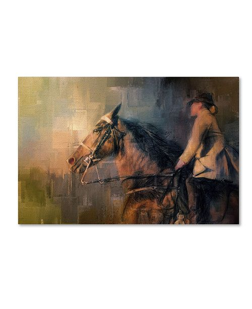 "Trademark Global Jai Johnson 'Into The Turn' Canvas Art - 32"" x 22"" x 2"""