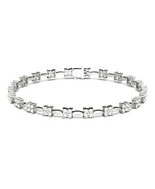 Moissanite Tennis Bracelet (1-3/4 ct. t.w. Diamond Equivalent) in 14k white gold