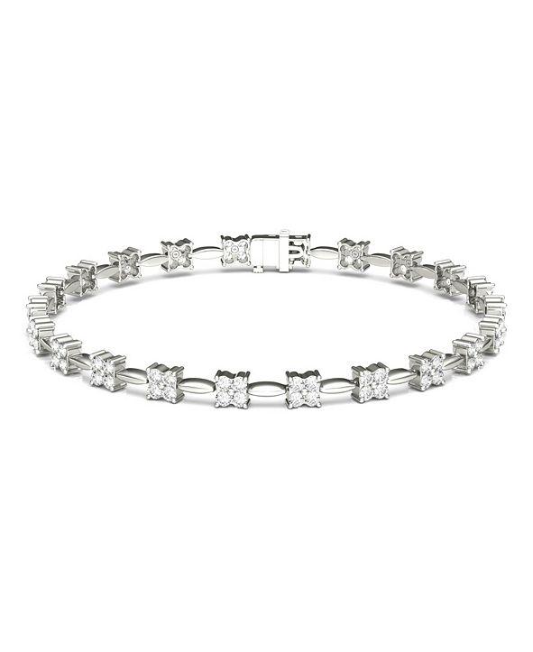 Charles & Colvard Moissanite Tennis Bracelet (1-3/4 ct. t.w. Diamond Equivalent) in 14k white gold