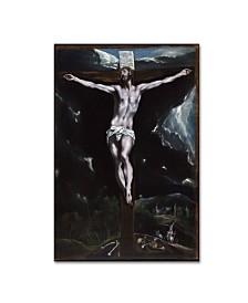 "El Greco 'Christ On The Cross' Canvas Art - 32"" x 22"" x 2"""