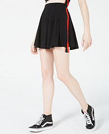 Waisted Varsity Stripe Cheerleader Skirt