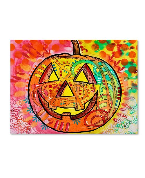 "Trademark Global Dean Russo 'Jack O Lantern' Canvas Art - 24"" x 18"" x 2"""