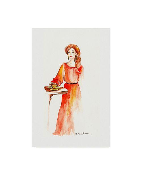 "Trademark Global Irina Trzaskos Studio 'Fashion' Canvas Art - 47"" x 30"" x 2"""