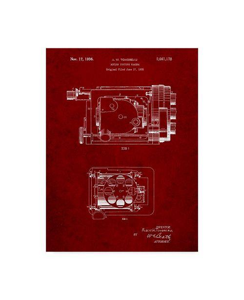 "Trademark Global Cole Borders 'Mechanics 24' Canvas Art - 47"" x 35"" x 2"""