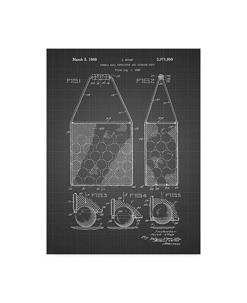 "Trademark Innovations Cole Borders 'Hand Bag 1' Canvas Art - 24"" x 18"" x 2"""
