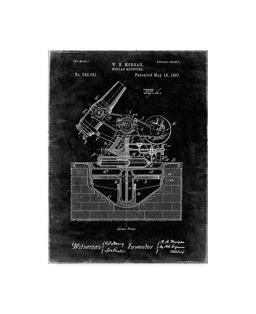"Trademark Global Cole Borders 'Mechanics 29' Canvas Art - 24"" x 18"" x 2"""
