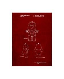 """Cole Borders 'Good Luck Care Bear' Canvas Art - 24"""" x 18"""" x 2"""""""