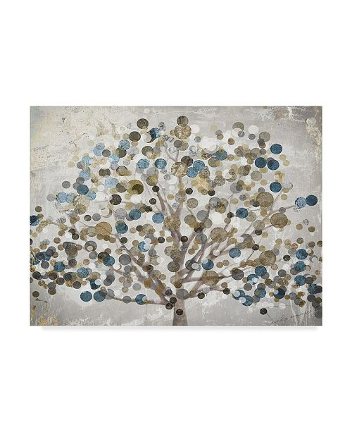 "Trademark Global Color Bakery 'Bubble Tree' Canvas Art - 47"" x 35"" x 2"""