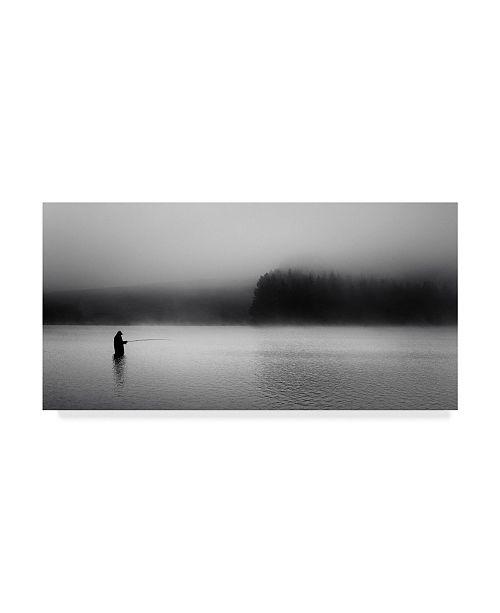 "Trademark Global David Bouscarle 'The Fog Catcher' Canvas Art - 47"" x 2"" x 24"""