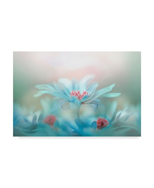 "Trademark Global Jacky Parker 'Fantasy Floral' Canvas Art - 32"" x 2"" x 22"""